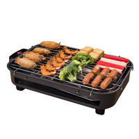 Electric Grill Smokeless Electric Pan Grill BBQ Octopus Ball Griddle Barbecue Raclette Mini Non stick Plate Takoyaki Machine