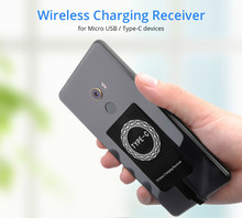 For Samsung Wireless Charging Receiver Universal Android Micro Usb Type-c Qi Wireless Charger Charge Pad Module For Mobile Phone цена