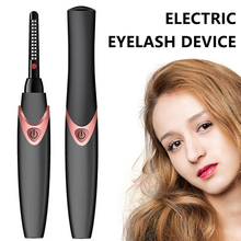 New Electric Heated Eyelash Curler USB Rechargeable Beauty M