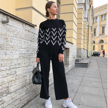Sweater Two Piece Knitted Sets RK