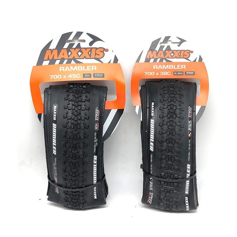 Maxxis pambler exo tr 700 × 45c 700c 38c 45c pneus de bicicleta de estrada mountain horse road cross country cascalho e sujeira estrada corrida pneu