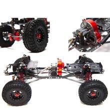 LeadingStar (Reverse Upgrade Version) 1/10 Universal 313 Wheelbase Frame CNC Full Metal TRX4 SCX10