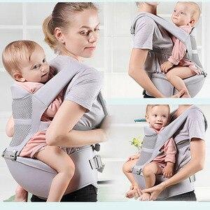 Image 2 - 0 48 ay ergonomik bebek taşıyıcı sırt çantası Hipseat ile yenidoğan için çok fonksiyonlu bebek Sling Wrap bel dışkı bebek kanguru