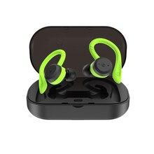 5.0 Bluetooth Headset TWS Wireless Earbuds Waterproof Noise Cancelling Headphone