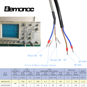 "Image 5 - Bemonoc DC 24V 60/100W גבוהה מומנט תולעת הילוך מנוע אינטליגנטי מקודד חשמלי דלת מנוע עבור בתי מלון אוטומטי דלת 220/250 סל""ד"