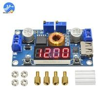 5A Lithum Batterij Charger Module Led Digitale Display Drive Board Usb Step Down Buck Converter Power Bank Opladen