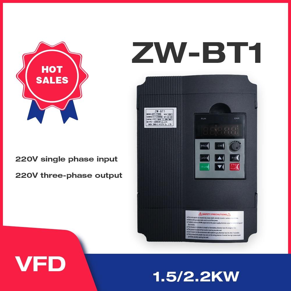 VFD Инвертор VFD 220 кВт/кВт инвертор частоты ZW-BT1 3P в