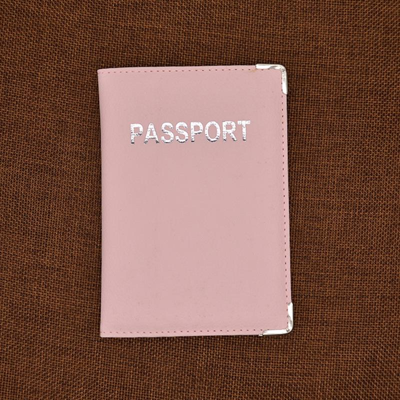 Cute Passport Cover For Worldwide Women Covers On The Passports Femme Traval Pu Leather Passport Holder Pink