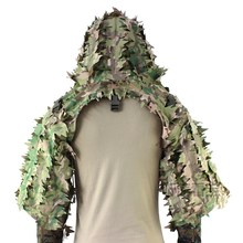 Ghillie-Uniform Shooting Training-Sniper Watching Army-Fans Bird Outdoor Camouflage Hide
