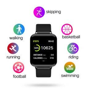 Image 3 - B57 montre intelligente étanche Smart Wriatband fréquence cardiaque pression artérielle surveillance de loxygène Smartband Smartwatch Bracelet intelligent CY05