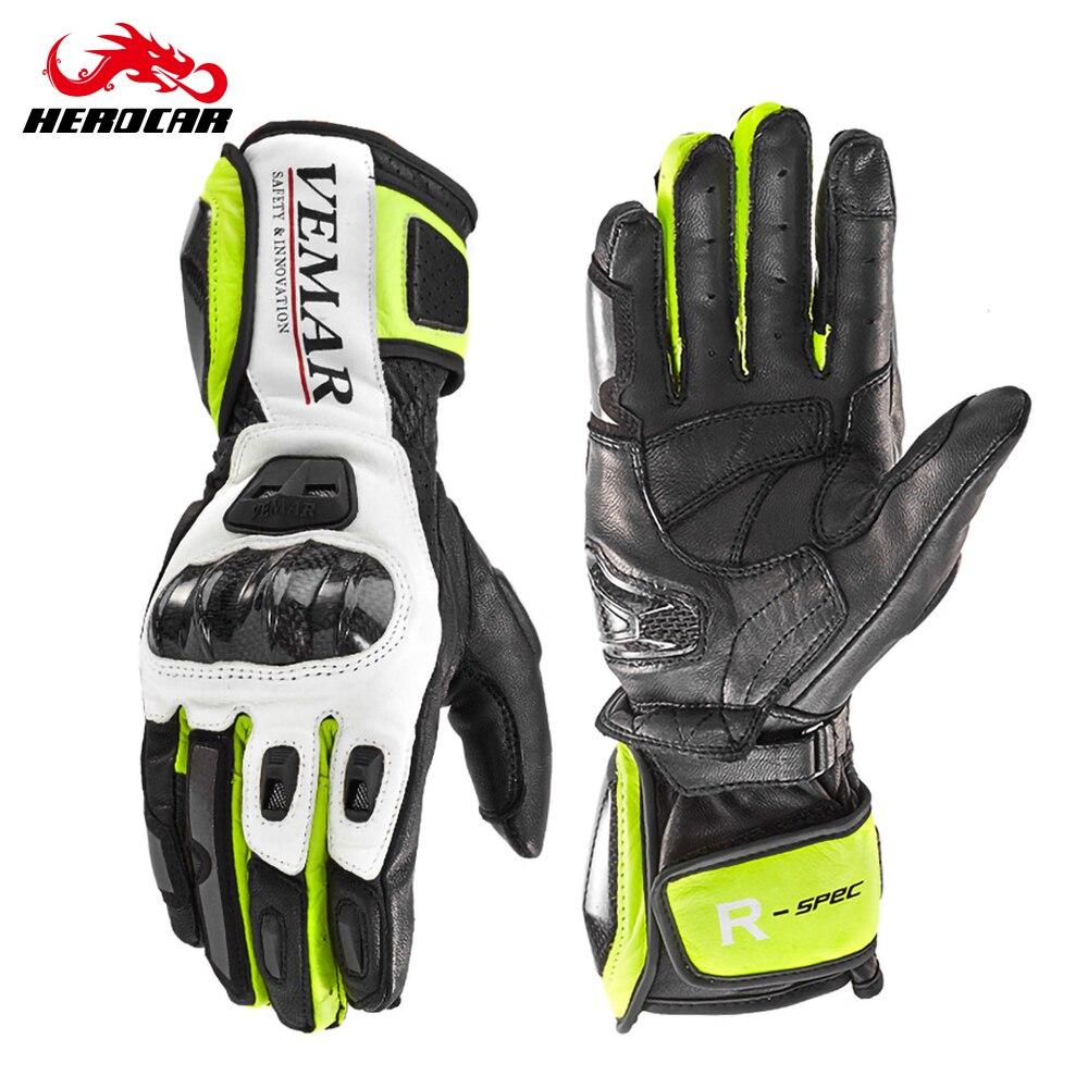 Мотоциклетные Перчатки VEMAR, дышащие защитные перчатки для профессионального велоспорта