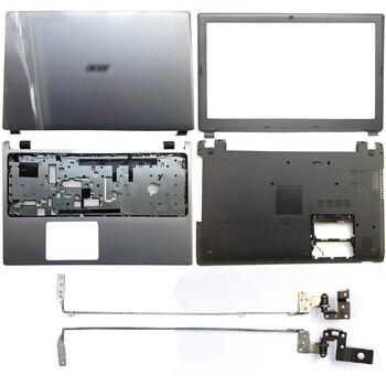 NEW For Acer Aspire V5-571 V5-531 V5-571G V5-531G Laptop LCD Back Cover/Front Bezel/Hinges/Palmrest/Bottom Case Silver цена 2017