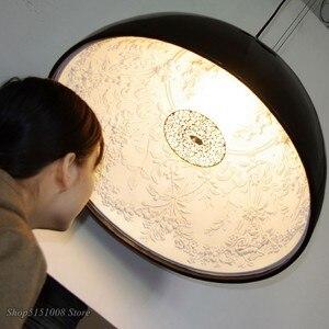 Image 3 - Lampe suspendue en résine, design pendentif Led, design nordique moderne, luminaire décoratif dintérieur, idéal pour un jardin, une salle à manger, un salon ou une chambre à coucher, pendentif Led
