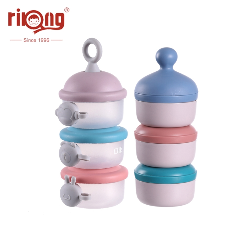 Rikang Baby Removable Milk Powder Storage Box Infant Feeding Formula Container Kids Toddler Portable Formula Dispenser Box