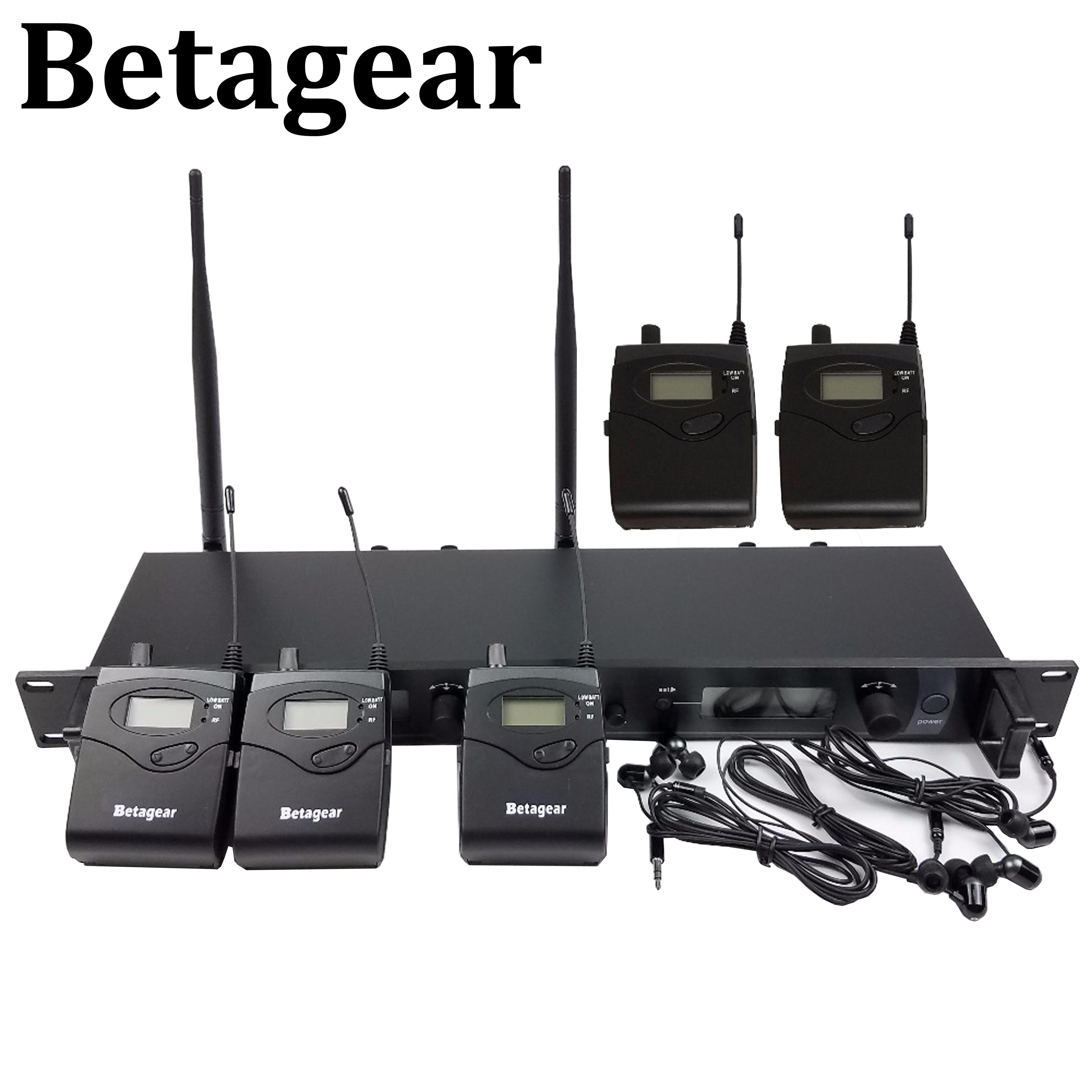 Betagear SR2050 IEM 5 Empfänger Wireless In-ear-Monitor-System UHF Bühne IEM System Bühne Überwachung 5 Monitor IEM