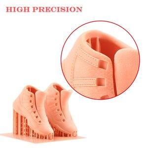 Image 4 - Langer Oranje 30 Sla 3D Printer 2K Lcd 405nm Matrix Uv Licht Hars Printer Diy Sieraden Dental Professionele 3d printer Kit