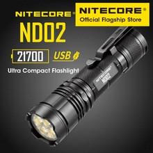NITECORE ND02 супер яркий светодиодный светильник 2700 люмен широкоугольный потолочные светильник ручной Портативный USB прямого заряда астигматиз...