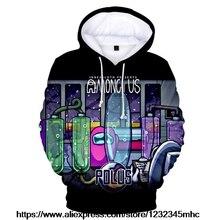 Girls Hoodies Among Us Sweatshirts Coats Game Streetwear Long-Sleeves Impostor Boys Women