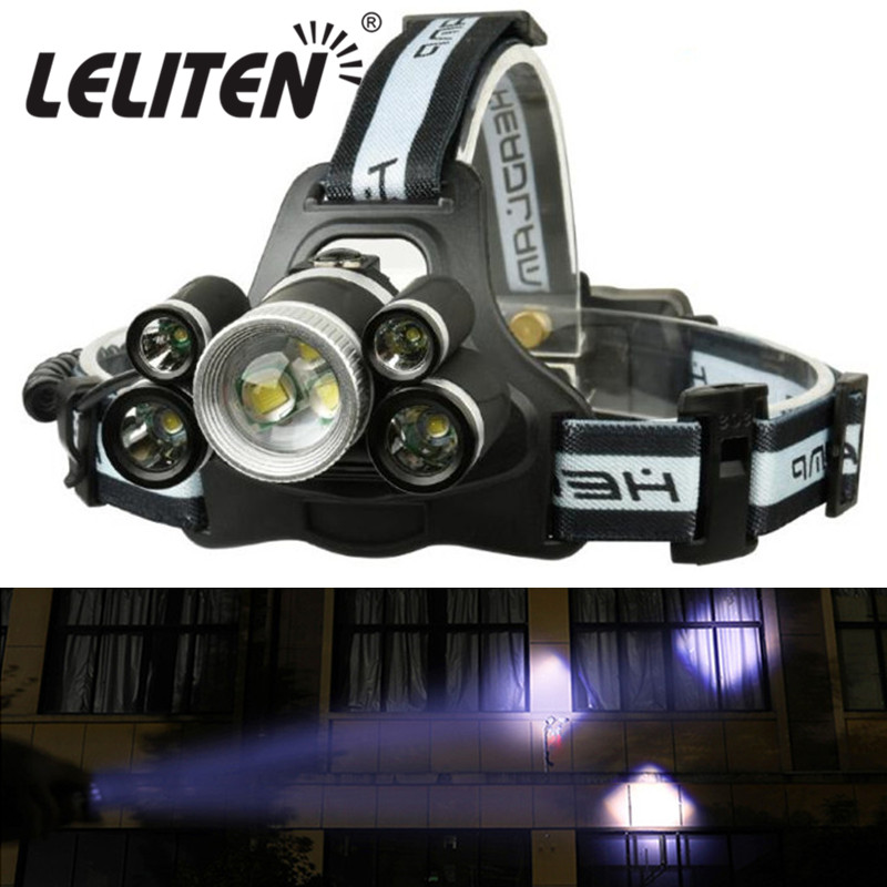 Portable C8T6 COB LED 12000LM Flashlight Lamp Torch For Outdoor Camping Hiking