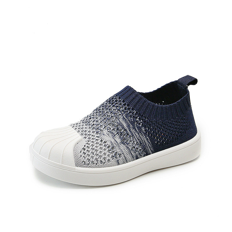 2020 Summer Shell Children Casual Shoes Soft Breathable Fly Knitting  Kids Shoes For Girl Toddler  Baby Girl Sneakers
