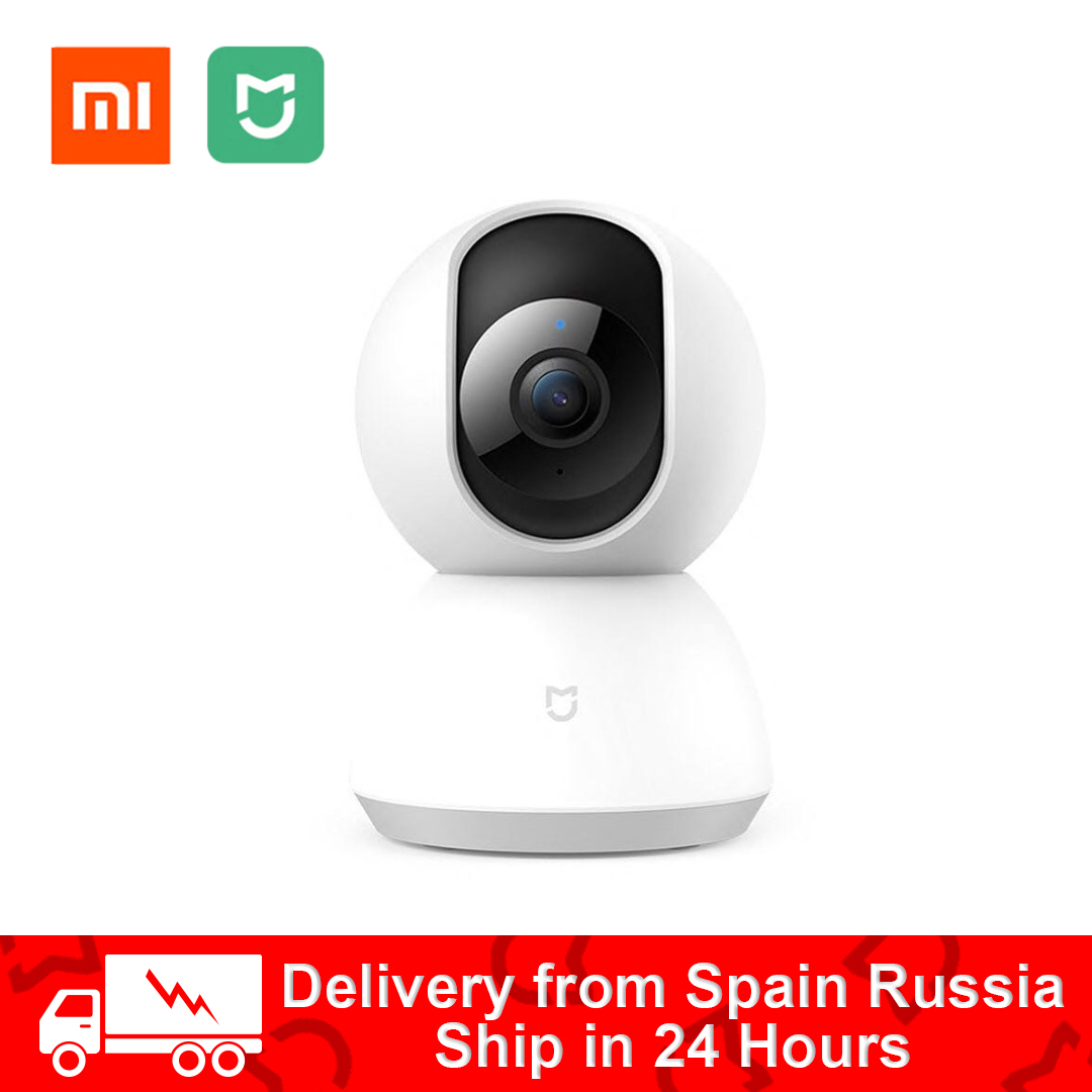 Original Xiaomi Mijia 1080P Smart Camera IP Cam Webcam Camcorder 360 Angle WIFI Wireless Night Vision AI Enhanced Motion Detect-in Surveillance Cameras from Security & Protection