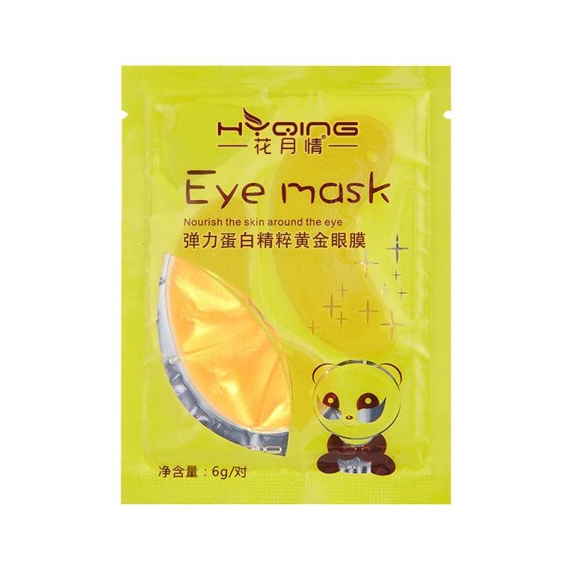 Crystal Collagen Powder Gold Eye Mask Anti Wrinkle Face Lasting Moisture Nourish Remove Dark Circles Care