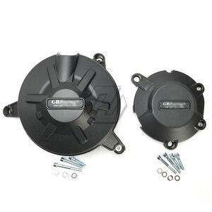 Image 2 - Aprilia RSV4 R 2010 2019 / RSV4 RR 2015 2018 용 GB 레이싱 용 오토바이 엔진 커버 보호 케이스