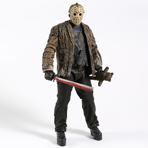 Image 3 - NECA Freddy vs. Jason Jason Voorhees PVC Action Figure Sammeln Modell Spielzeug 18cm