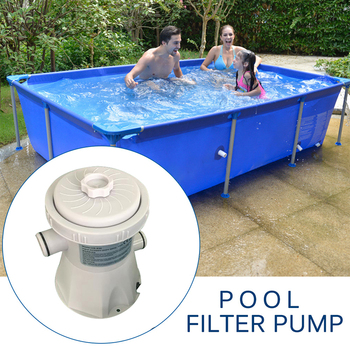 Electric Swimming Pool Filter Pump Filter Kit Summer Outdoor Pool Pump Paddling Pool Water Cleaning Tool For Swimming Pool цена 2017