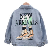 2020 Mickey Denim Jacket For Boys clothes high quality baby girls Jackets Children cowboy kids Clothes Outerwear Cartoon Coat цена 2017