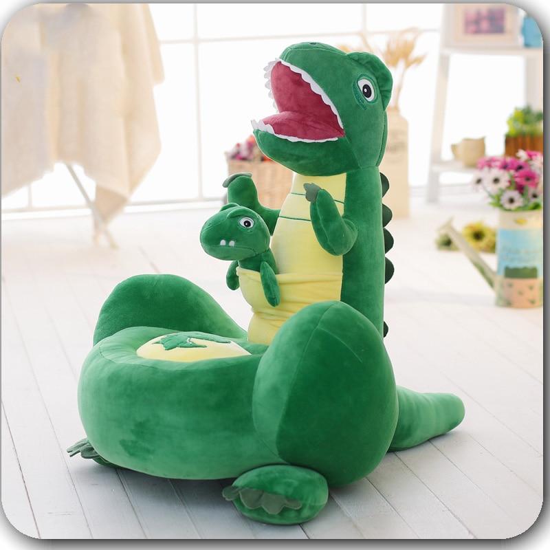 Plush Toy Dinosaur Sofa Children's Sofa Seat Pillow Cushion Lazy Cushion Sofa Chair Tatami Cushion Quality Filling