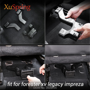 Car Rear Seat Air Conditioner Outlet Vent Extension Tube for subaru forester outback xv legacy impreza 2019 2018 2017