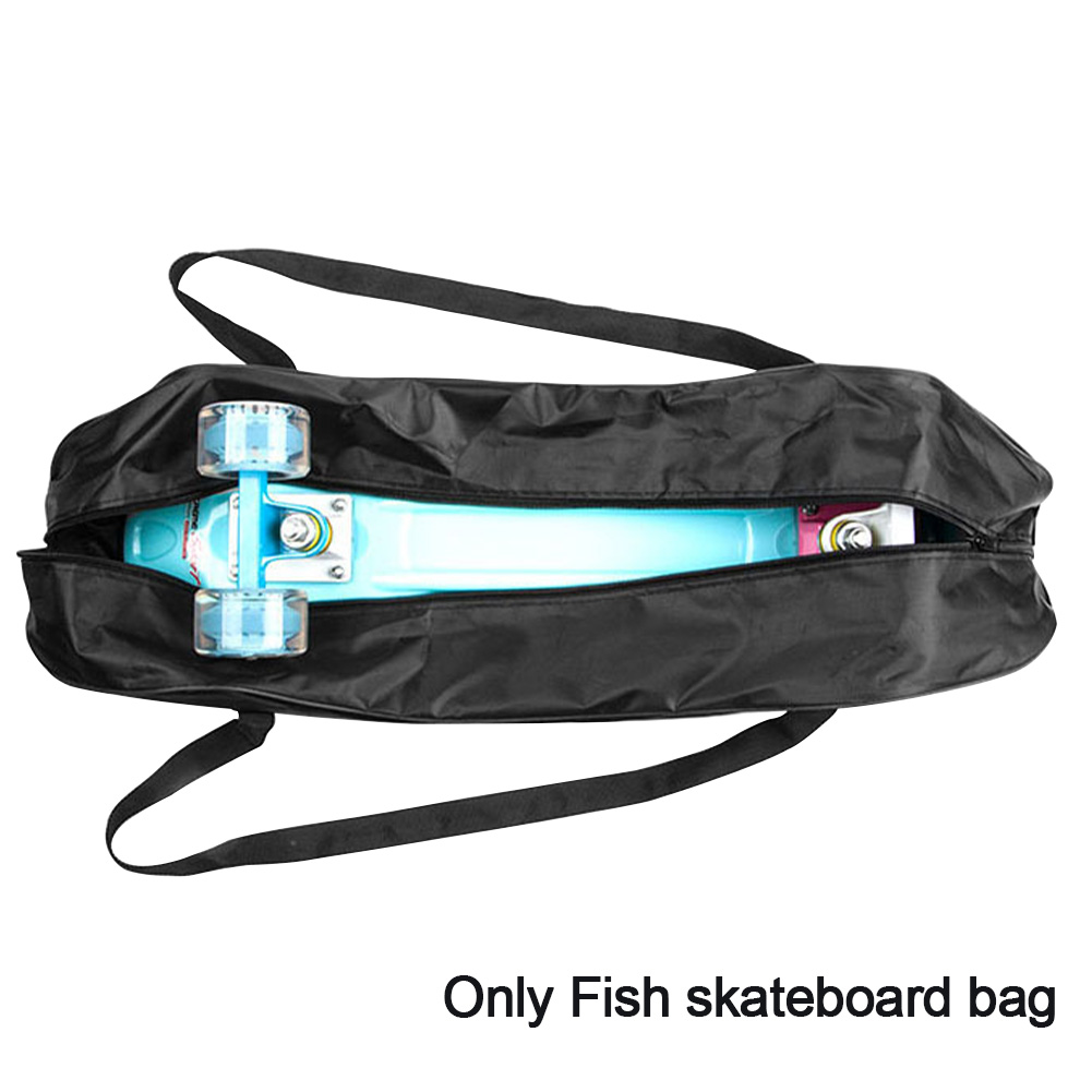 Carrying Pouch Hanging Portable Fish Skateboard Bag Anti Scratch Foldable Equipment Storage Backpack Protective Cover Zippered