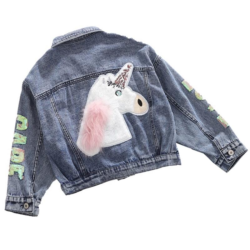 Teens Girls Denim Jacket For Girls Spring Fall Jacket Kids Outerwear Coar For Girls Clothes Children Denim Jacket 6 8 10 12 Year