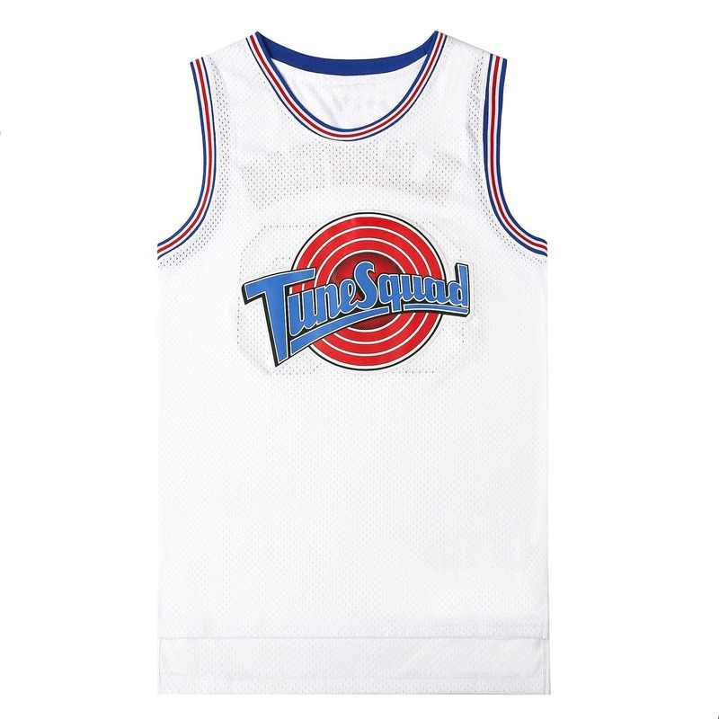 Movie Cosplay Costumes Space-Jam #23 JD #1 BUGS #10 LOLA #22 Murray Bunny Basketball Jersey Stitched Number