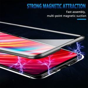 Image 4 - Funda de cristal de doble cara para Redmi Note 8 Pro, funda a prueba de golpes para Redmi Note 7, Note 8, Bumper, Redmi Note 7 Pro