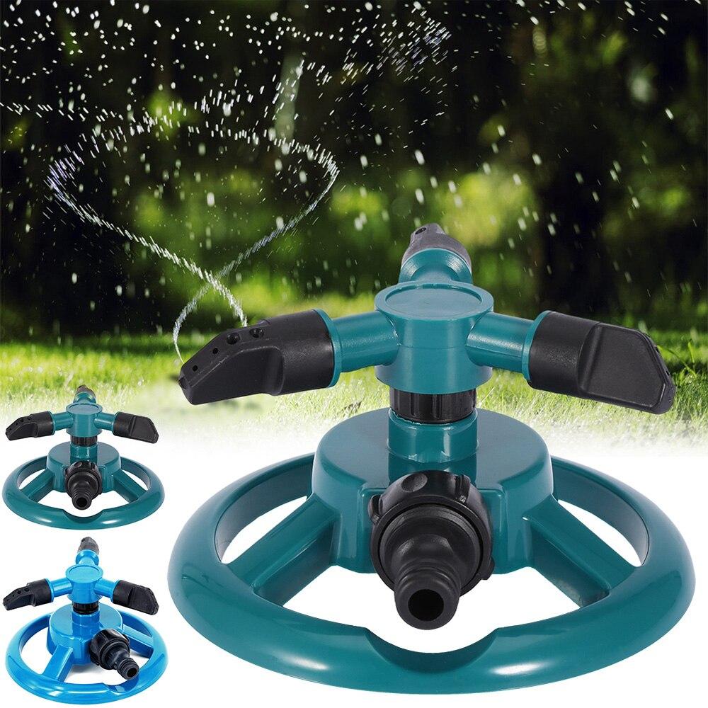 Automatische Bewässerung Spikes Für Hof Garten Leben Im Freien Wasser Sprinkler Rotierenden Garten Sprinkler Anlage Bewässerung Werkzeuge D30