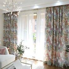 Шторы в европейском стиле для гостиной столовой спальни занавески
