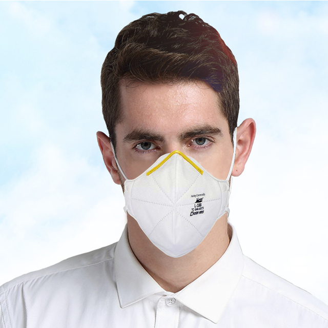 20PCS NIOSH N95 Masks US Standard  Anti-fog Haze Dust-proof Face Masks  N95 for Exhaust Gas Allergies Pollen PM2.5 3