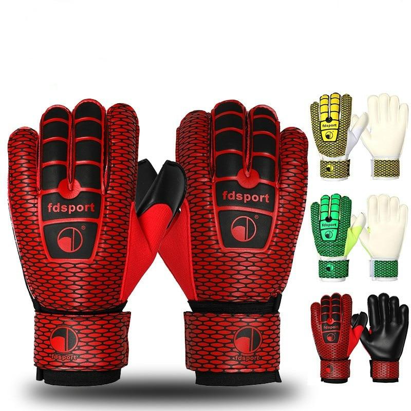Новейшие мужские футбольные перчатки вратаря профессиональные латексные тренировочные перчатки для футбольного вратаря защитные перчатк...