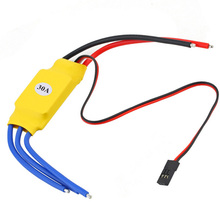 XXD HW30A 30A Brushless Motor ESC for RC 450 Helicopter FPV Mini Quadcopte Drone Motor Speed Controller 40a brushless esc drone airplanes parts components accessories speed controller motor rc toys fpv durable quadcopter helicopter