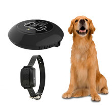 Wireless Pet Dog Electric Fence Containment System Dog Training Collar Vibrating Shock Wireless Signal Transmitter 500M Distance