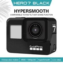 Câmera subaquática 12mp dos esportes do quadro de gopro hero 7 black4k60, tempo real que flui a câmera exterior da anti agitação de hd dos meios