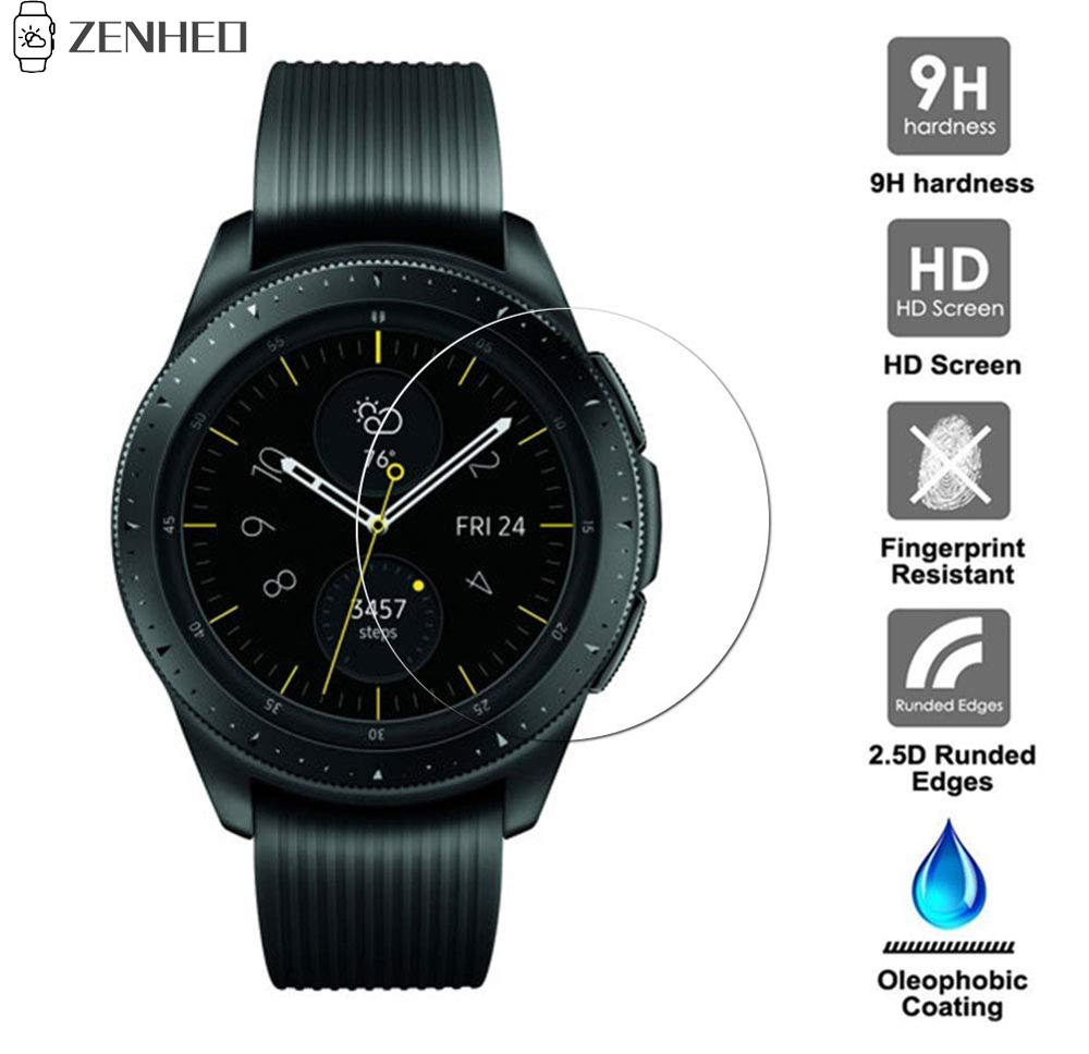 1Pcs For Samsung Galaxy 42mm Classic Tempered Glass 9H 2.5D Premium Screen Protector Tempered Film For Samsung Galaxy Watch 42mm