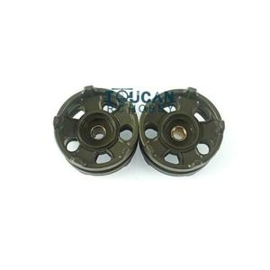 Henglong 1/16 Scale Russian T72 RC Tank 3939 Plastic Idler Wheels Model Parts TH16772