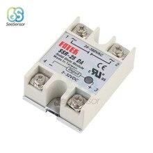 Relais à semi-conducteurs monophasé 3-32V DC vers 24-380V 10DA 25DA 40DA DC, contrôle AC SSR