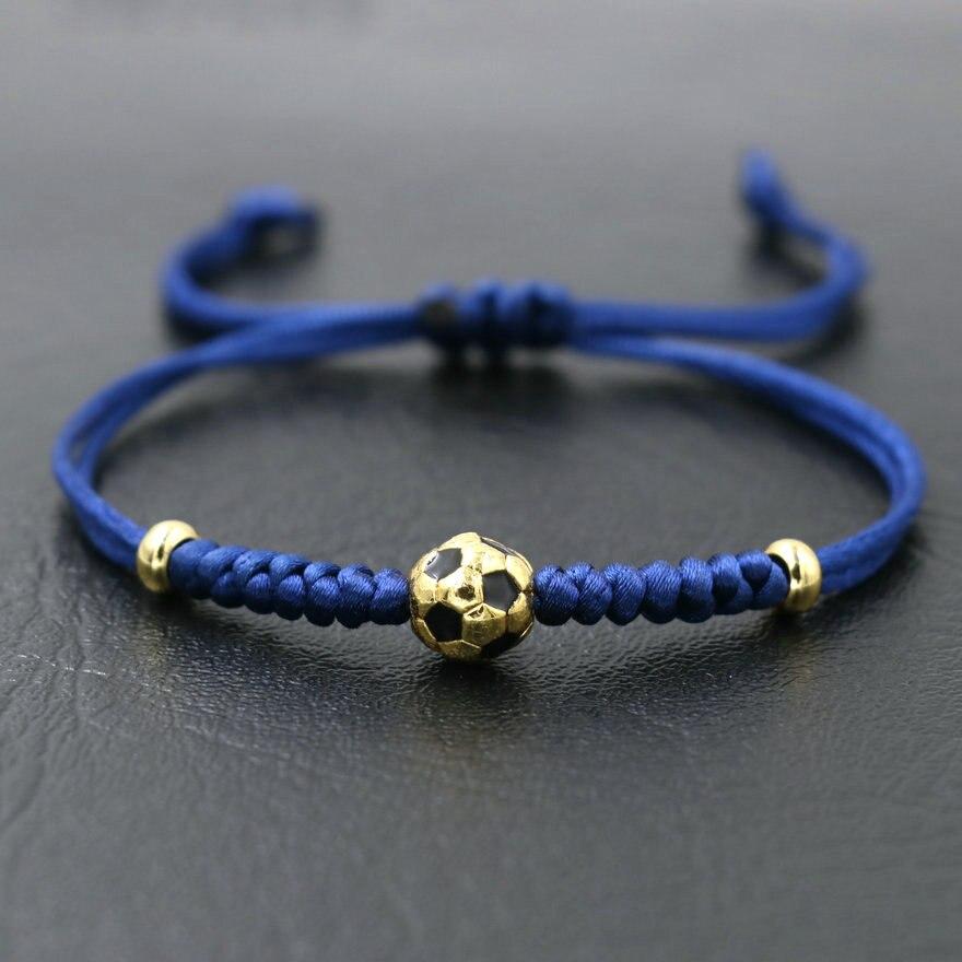 Fashion Clear Crystal Paved Football Mom Charm Bracelet Creative DIY Sports Jewelry