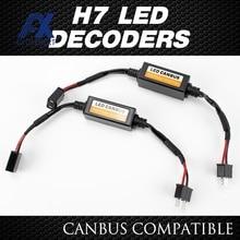 LED Fog Decoders Load-Resistor H7 Headlight Lamps