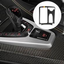 цена на Car Styling Carbon fiber Multimedia Handrest Panel Sticker Covers For Mercedes Benz W204 W212 C Class E Class Auto Accessories