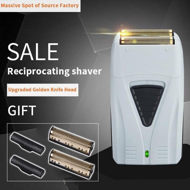 Golarka elektryczna dla mężczyzn Twin Blade profesjonalna akumulatorowa maszynka do golenia Razor USB maszynka do golenia na akumulator trymer fryzjerski